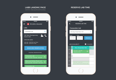 Labs Reservation App